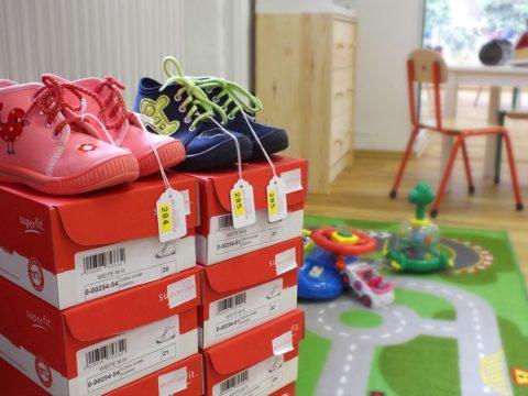 Kinder Schuhgeschäft